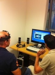"""המעבדה למציאות מדומה ב""""בר אילן"""""""