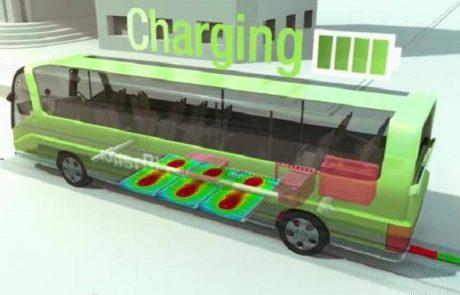 תחבורה ציבורית של העידן החדש: אוטובוסים בתדלוק חשמל אלחוטי